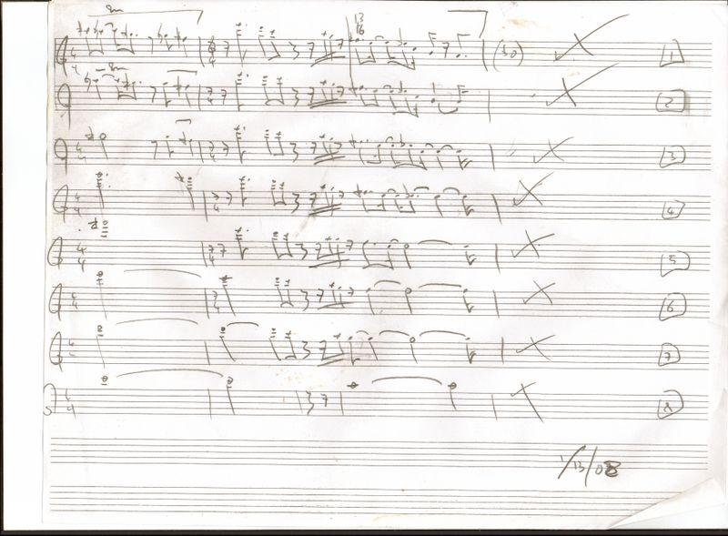 String quartet first mvt sketch