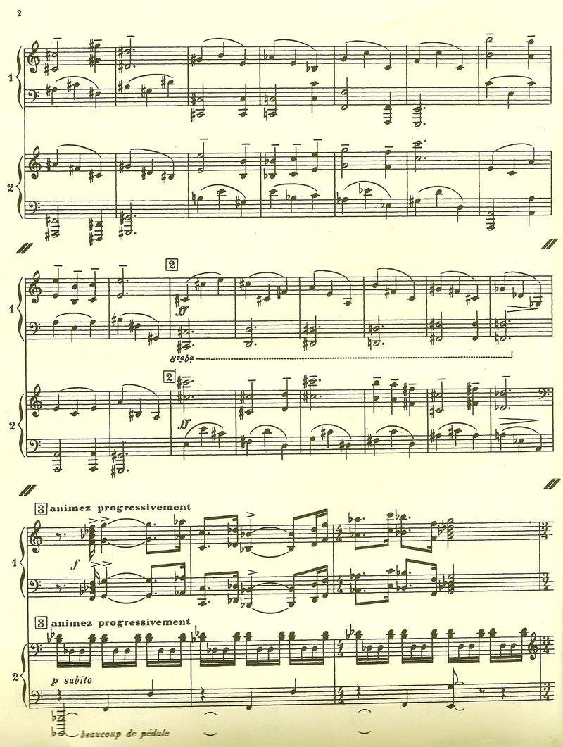 Poulenc Sonate score 2